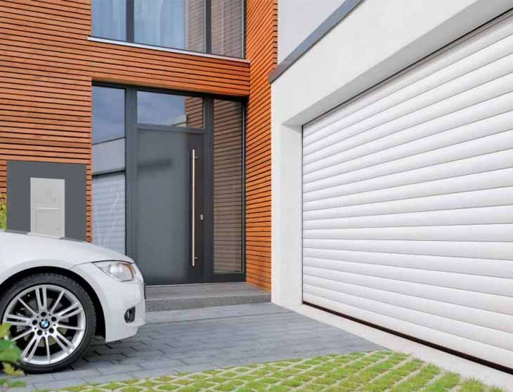 Porte garage enroulable sur mesure elegant garage avec for Porte de garage pas cher sur mesure