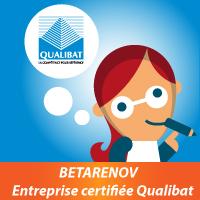 Betarenov - Entreprise certifiée Qualibat