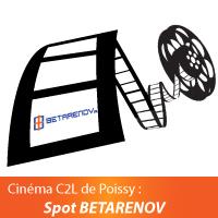Cinéma C2L de Poissy - Spot BETARENOV